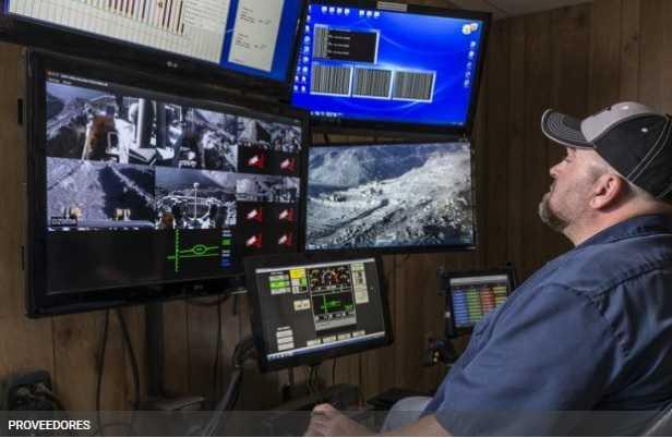 Finning lanza nuevo sistema de teleoperación para tractores y sigue avanzando hacia la minería 4.0